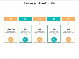 Business Growth Rate Ppt Powerpoint Presentation Inspiration Cpb