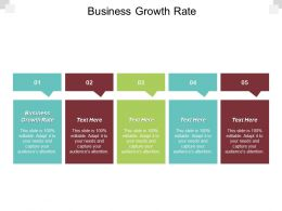 Business Growth Rate Ppt Powerpoint Presentation Portfolio Graphics Pictures Cpb