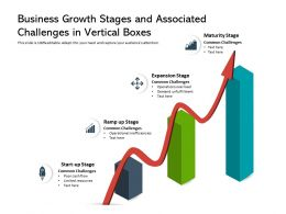 Business Growth Stages And Associated Challenges In Vertical Boxes