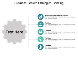 Business Growth Strategies Banking Ppt Powerpoint Presentation Icon Layout Cpb