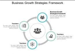 Business Growth Strategies Framework Ppt Powerpoint Presentation File Pictures Cpb