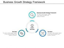 Business Growth Strategy Framework Ppt Powerpoint Presentation Ideas Rules Cpb