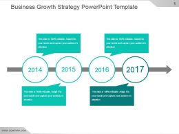 Business Growth Strategy Powerpoint Template