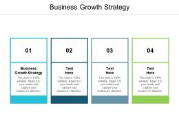 Business Growth Strategy Ppt Powerpoint Presentation Ideas Master Slide Cpb