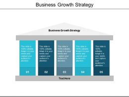 Business Growth Strategy Ppt Powerpoint Presentation Infographics Example Cpb