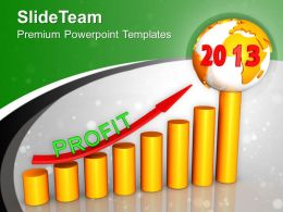 Business Growth Year 2013 Powerpoint Templates Ppt Themes And Graphics 0113