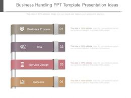 Business Handling Ppt Template Presentation Ideas