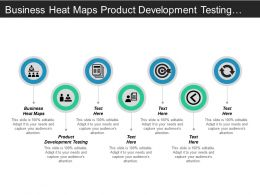 Business Heat Maps Product Development Testing Current State Business Cpb