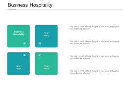 Business Hospitality Ppt Powerpoint Presentation Model Topics Cpb