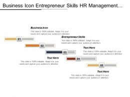 Business Icon Entrepreneur Skills Hr Management Business Networking