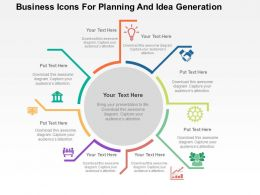 business_icons_for_planning_and_idea_generation_flat_powerpoint_design_Slide01