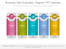 business_idea_evaluation_diagram_ppt_example_Slide01