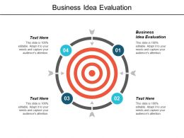 Business Idea Evaluation Ppt Powerpoint Presentation Infographics Model Cpb