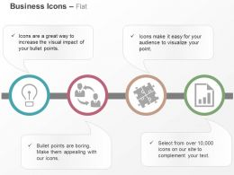 Business Idea Generation Network Team Of Puzzles Growth Report Ppt Icons Graphics
