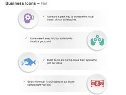 Business Idea Generation Process Flow Currency Loss Ppt Icons Graphics