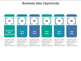 Business Idea Opportunity Ppt Powerpoint Presentation Outline Visual Aids Cpb