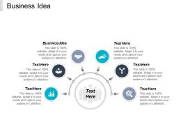 Business Idea Ppt Powerpoint Presentation File Professional Cpb