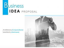 Business Idea Proposal Powerpoint Presentation Slides