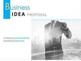 Business Idea Proposal Powerpoint Presentation Slides