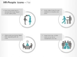 Business Idea Sharing Team Communication Ppt Icons Graphics