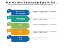 Business Ideas Entrepreneurs Dynamic Risk Assessments Analysis Profitability Cpb