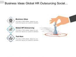 Business Ideas Global Hr Outsourcing Social Media Advertising Cpb