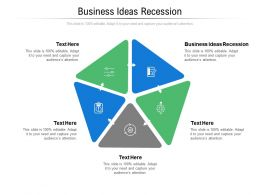 Business Ideas Recession Ppt Powerpoint Presentation Slides Sample Cpb