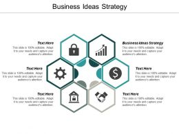 Business Ideas Strategy Ppt Powerpoint Presentation Visual Aids Ideas Cpb