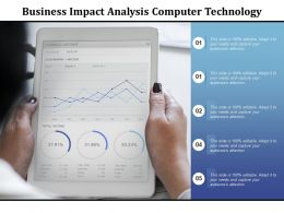 Business Impact Analysis Computer Technology