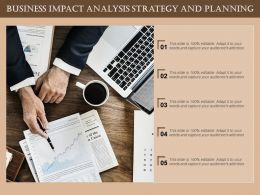 Business Impact Analysis Strategy And Planning