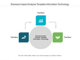 Business Impact Analysis Template Information Technology Ppt Powerpoint Presentation Cpb