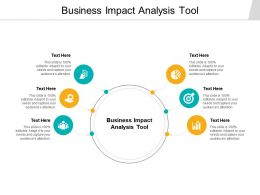 Business Impact Analysis Tool Ppt Powerpoint Presentation Layouts Background Cpb