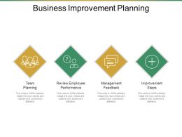 Business Improvement Planning Ppt Ideas