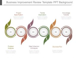 Business Improvement Review Template Ppt Background