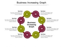 Business Increasing Graph Ppt Powerpoint Presentation Icon Graphics Design Cpb