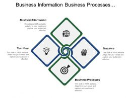 Business Information Business Processes Management Processes Implement Strategies
