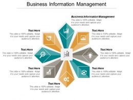 Business Information Management Ppt Powerpoint Presentation File Formats Cpb