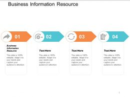 Business Information Resource Ppt Powerpoint Presentation Styles Slides Cpb