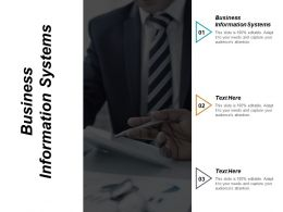 Business Information Systems Ppt Powerpoint Presentation Model Visual Aids Cpb