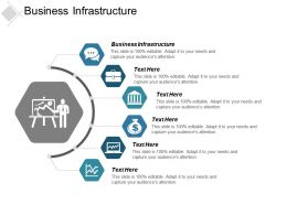 Business Infrastructure Ppt Powerpoint Presentation File Styles Cpb