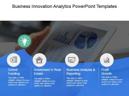 Business Innovation Analytics Powerpoint Templates