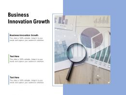 Business Innovation Growth Ppt Powerpoint Presentation Good Cpb