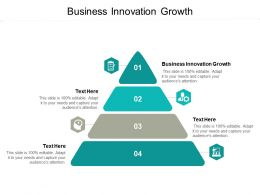 Business Innovation Growth Ppt Powerpoint Presentation Show Outfit Cpb