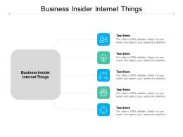 Business Insider Internet Things Ppt Powerpoint Layouts Examples Cpb