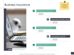 Business Insurance Business Analysi Overview Ppt Rules