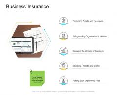 Business Insurance Company Management Ppt Background