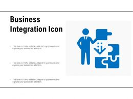 Business Integration Icon
