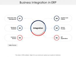 Business Integration In Erp
