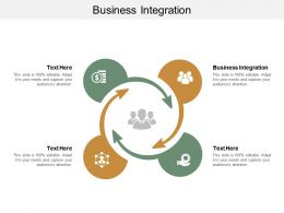 Business Integration Ppt Powerpoint Presentation File Maker Cpb