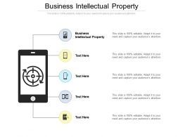 Business Intellectual Property Ppt Inspiration Template Cpb